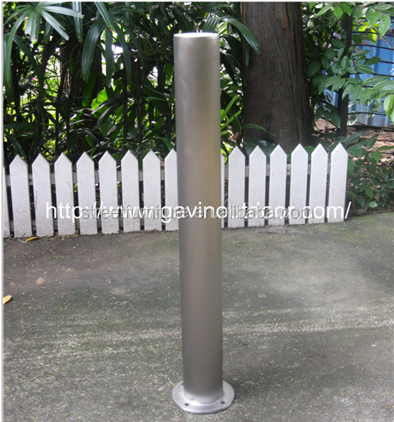 316 stainless steel road safety bollard/parking bollard stainless