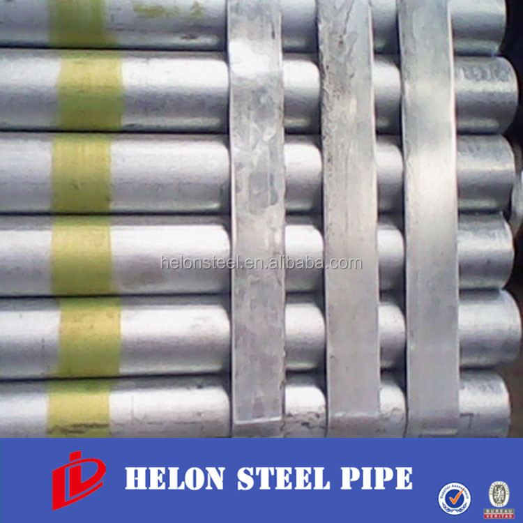 China Manufacturer Anti-rust Hdg steel pipe and tube for green house & fence post/high zinc coating/fast delivery