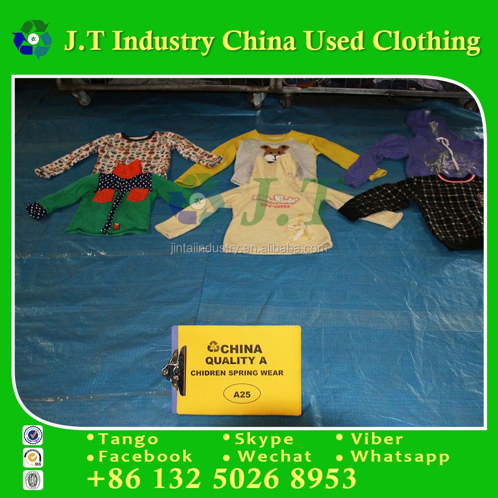 wholesale used clothing hongkong winter chidren spring wear