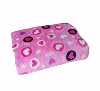 100% Polyester Printed Coral Fleece Blanket