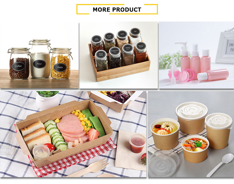 3-compartment Plastic food container Containers, Microwavable Food Containers with Lids, OEM Plastic Packaging box