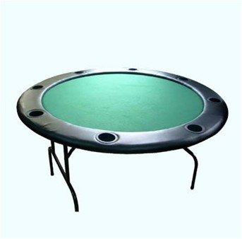 "48"" Full size round poker table"