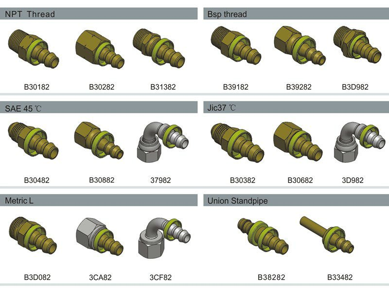 Push_lok fittings,Hydraulic fittings,Pneumatic fittings