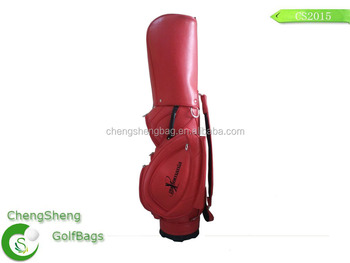 New style leather golf cart bag