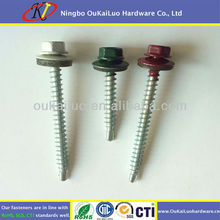 10 x 1-1/2 Colourful Painted Roofing Screws