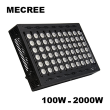 Long Range RGB Commercial 150W 200W 500W 1000W DMX Controled Indoor Outdoor Dimmable LED COB Spotlight Lamp for Field Soccer