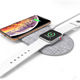 Smartphone Dual Wireless Charger Station for Apple Watch and Cell Phones