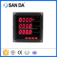 LED Display Measuring I,V,P,Q,PF,Hz,KWH Multimeter Multifunction Power Meter from Manufacturer China