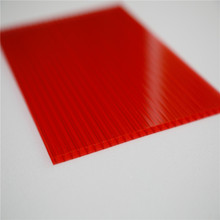 Sabic material double layer polycarbonate hollow sheet
