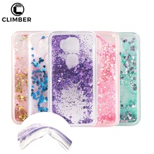 Fancy Cute Glitter Cell Phone Liquid Case Lifestyle Cases Cover For Huawei P9 P10 Plus Lite Ascend Y52 Mate 9 Honor 6X 8 Pro