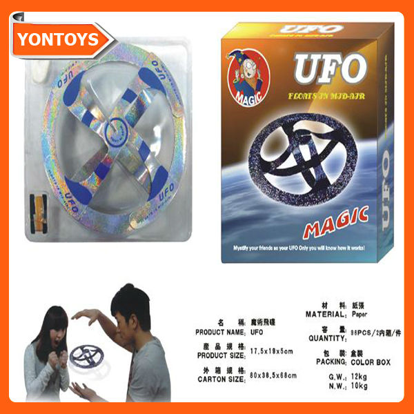 Paper magic ufo toy
