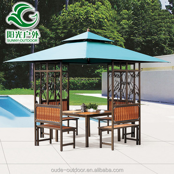 2016 Hot Sale Ornamental Antique Wrought Iron Gazebo