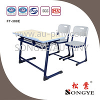 SY Good quality children assemble study table and chair furniture