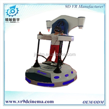 Popular 9d vr game machine small body size vr fligh simulator for sale