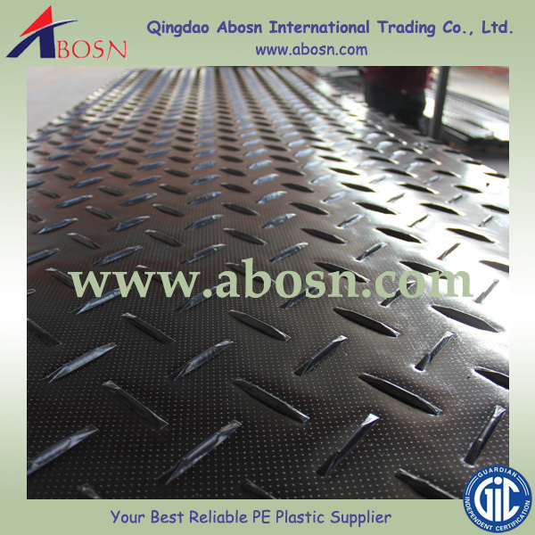 Anti-slip surface Portable HDPE Industrial Camp Sidewalks