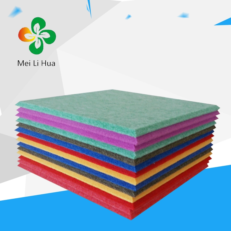 Selling! interior wall material polyester acoustic panel
