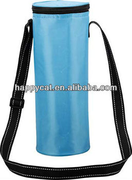 Custom Functional Blue Water Bottle Cooler Bags (UF-3804)