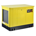 VIGOROUS Manufacturer High Quality 4 Stroke Super Silent Type Emergency Home Gasoline Generator 8kw with Handle and Wheel