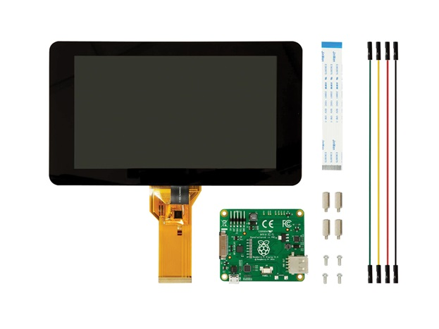 "Display - 7"" Touchscreen Display for Raspberry Pi"