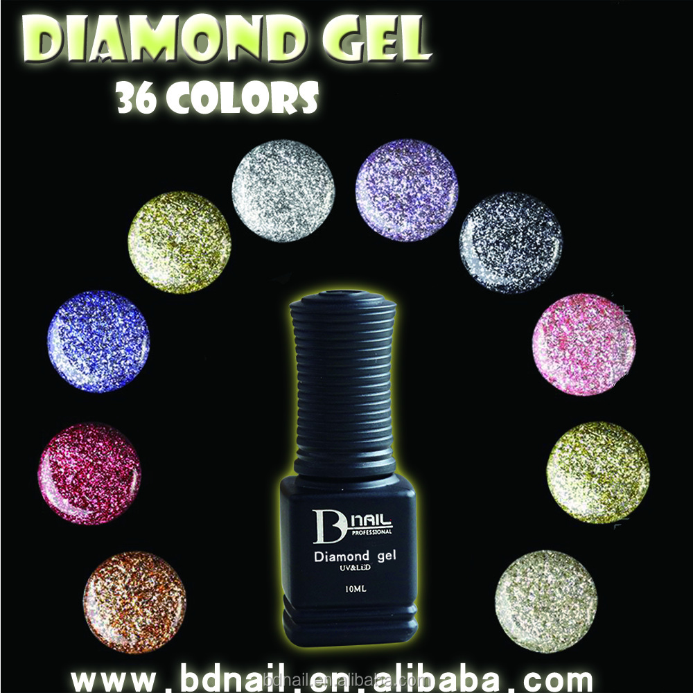 Newest Best Selling Label Platinum Gel Nail Polish Gel Uv Gel with 38 colors