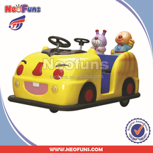2015 Popular NF-K22 Coin operated Kiddie Battery car, Kiddie rides type walking ride animal car