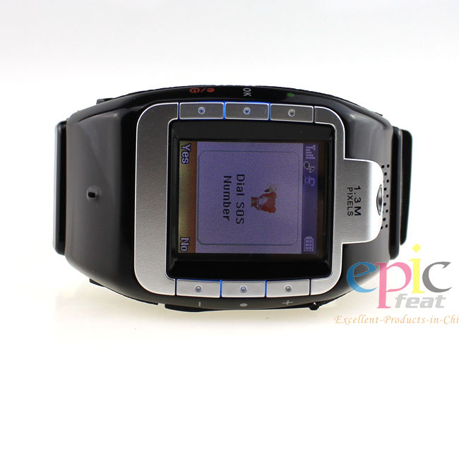 2014 new selling latest wrist watch mobile phone price with Blutooth