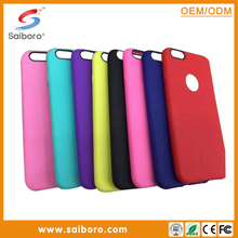 China manfacturer soft skin colorful TPU leather case for Samsung S6 best sale soft TPU skin case