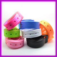 Wholesale Multi Candy Color Silicone PVC Belt
