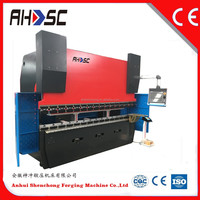 CE certified small hydraulic press brake made in china with high performance