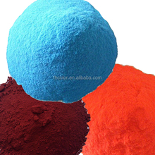 metallic glitter traffic red color RAL3020 powder coating
