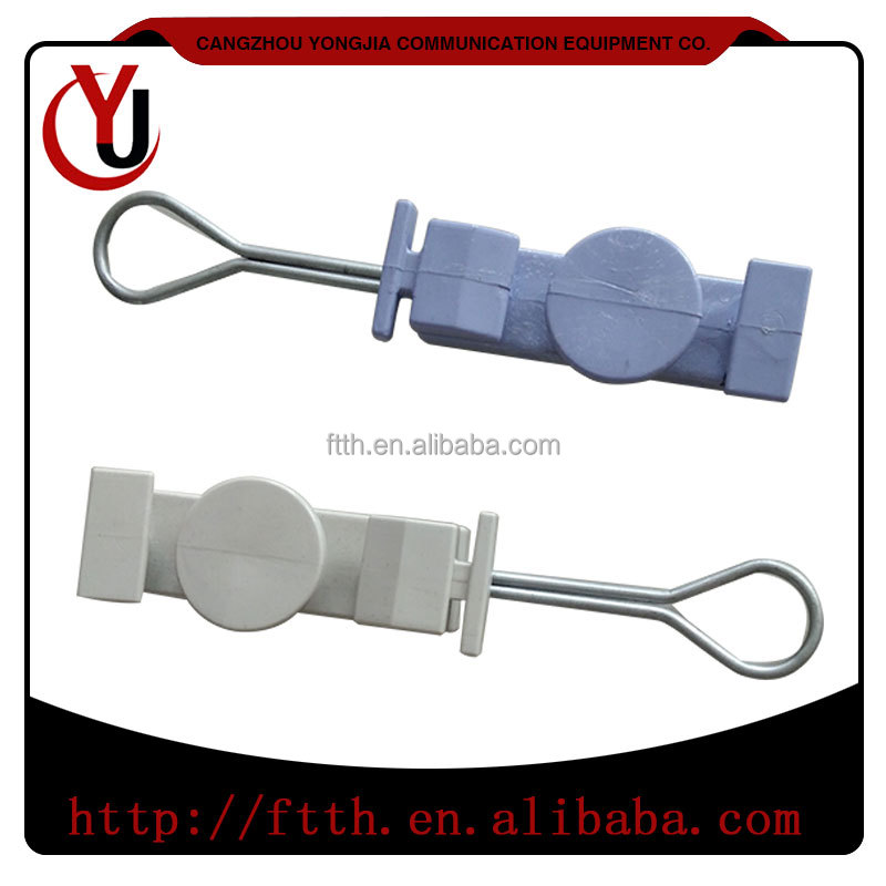 FTTH Accessories Plastic Cable Drop Wire Clamp