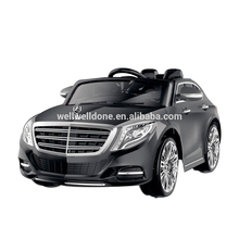 WDZP8003 LicensedWDZP8003 Mercedes Benz S600 Newest Children Electric Car, With USB Port and TF Card, Double Door Open Kids Car