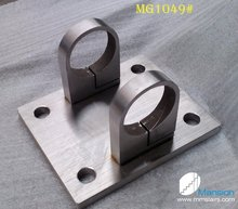 Stainless Steel Railing Post Bracket ( for round tube )