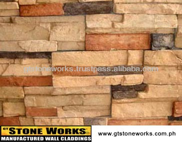 MANUFACTURED STONE WALL CLADDING - LEDGESTONE Bellvue