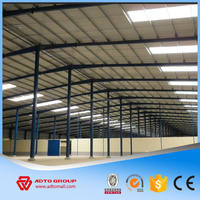 Hot Sale Fast Steel Buildings Single Slope Structure Warehouse Light Frame Metal Erection Construction from China Manufacture