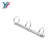 Easy open PR280 3 ring steel chip metal stationery hardware file clip