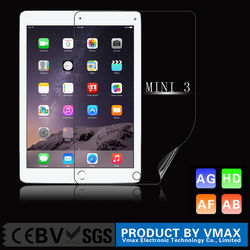 VMAX 99% high clear mobile phone screen protector for iPad Mini 3