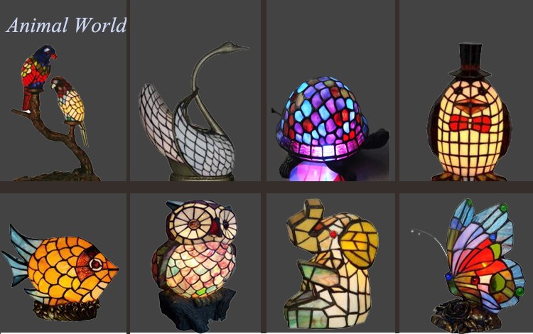 Tiffany Style Mission Stained Glass Lamp Tiffany Flower Table Lamp In China  Wholesale Lamp Prices
