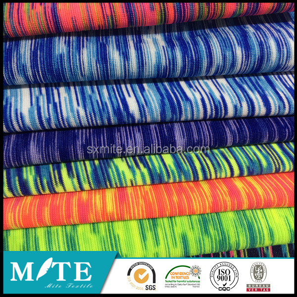 100% polyester cationic single jeresy fabric