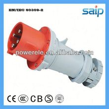 International Standard industrial plug switch socket outdoor waterproof