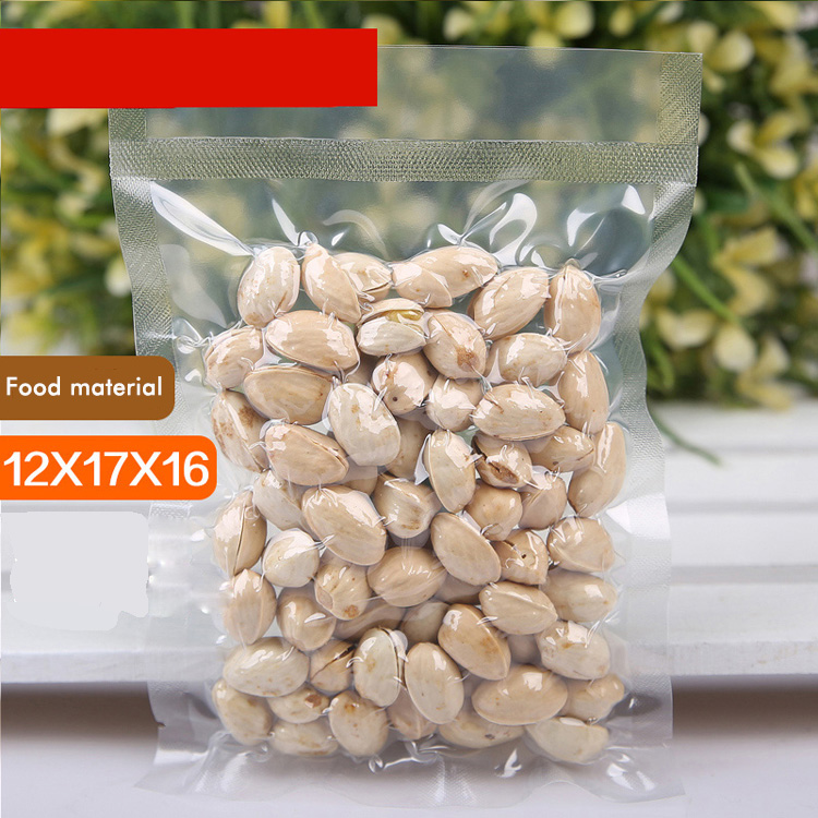 12x17cm 160 micron cheap price vacuum transparent packing plastic bag,laminate <strong>rice</strong>/<strong>rice</strong> dumpling food vacuum bag