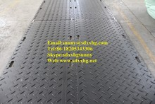 HDPE stable access ways for construction equipment and vehicles