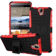 High Quatity Hybrid Stand Shockproof Case For HTC One E9 Plus