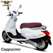 Cappucino 150CC JNEN 2018 Patent Retro Vintage Style Motorcycle 150 cc Gas Scooters Passed EEC DOT