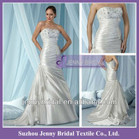 PB131 Strapless beaded wedding dress 2013