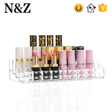 NZ C216 New Beauty Diamond Design Custom Clear Acrylic Lipstick Holder