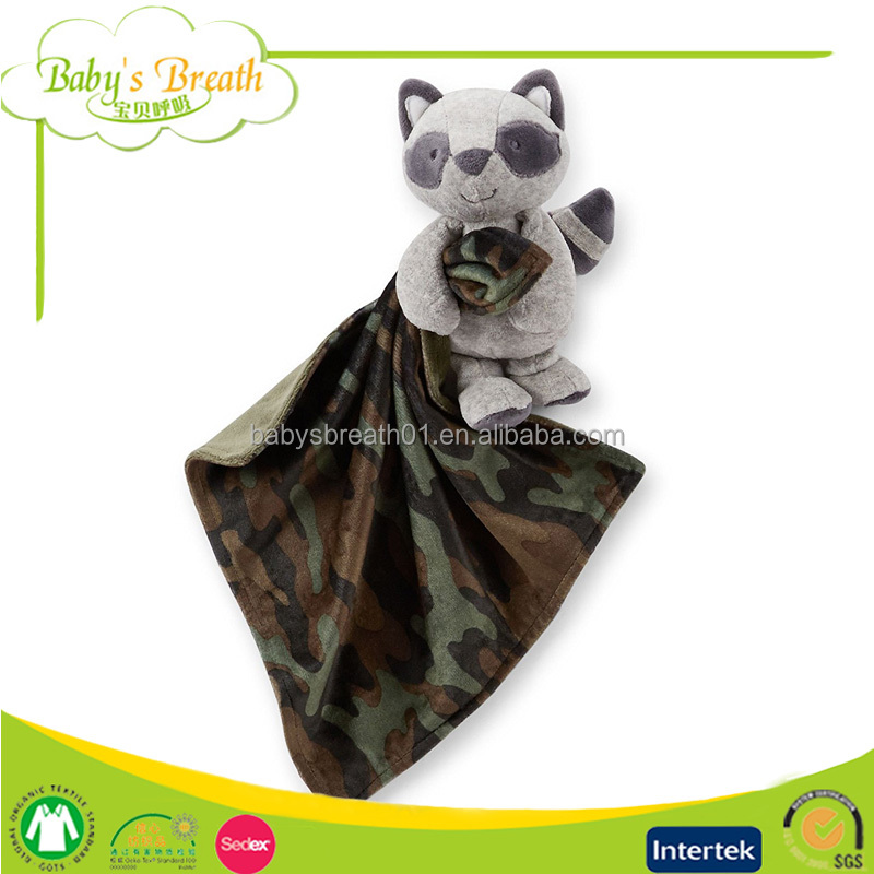 PB-26 Ultra Soft Camo Baby Security Blanket