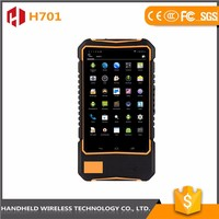 Mass supply 7intch rugged handheld wireless H701 ip 65 android 4.4.2 uhf rfid tablet