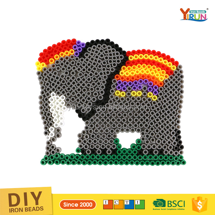New Design elephant Fun Educational Toys for Wholesale perler beads montessori materials in china hama