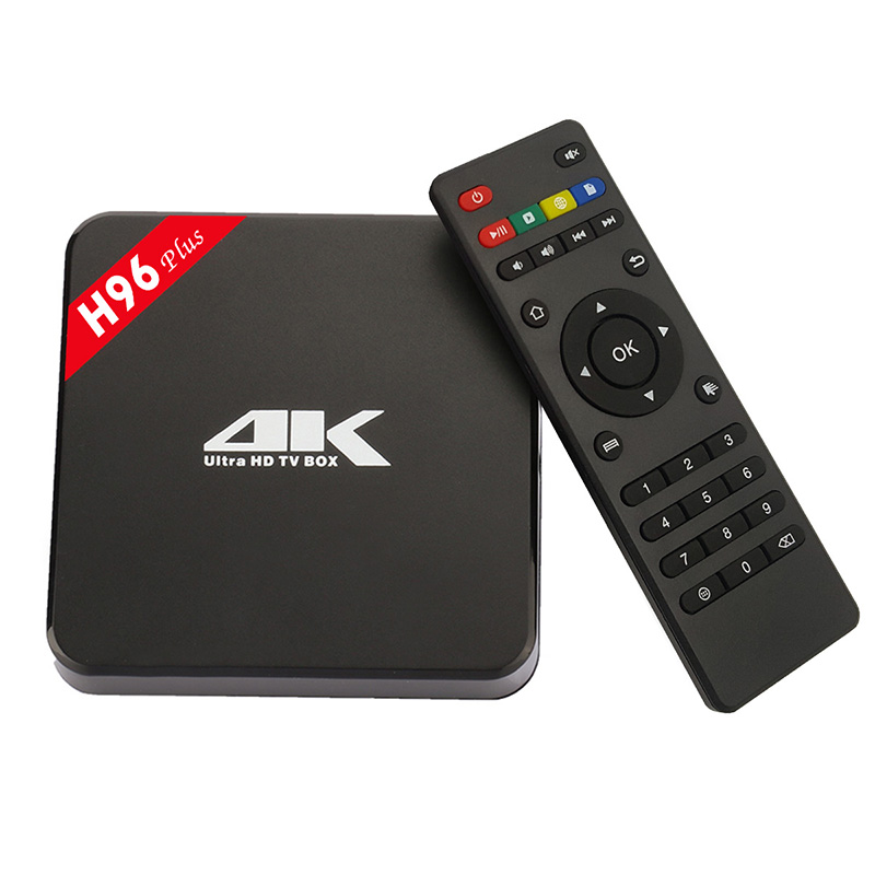 Best Price H96 Plus 2G/16G Android S905 TV BOX 64bits 1000M LAN Bluetooth 4.0 M8S Android tv box